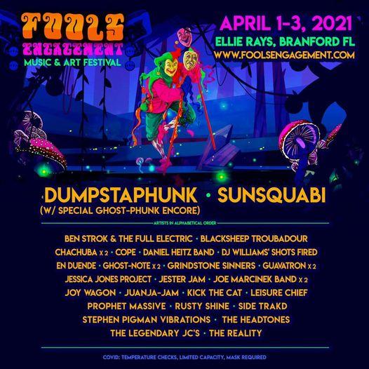 Get The Details About The April 1-3 Fools Engagement Festival