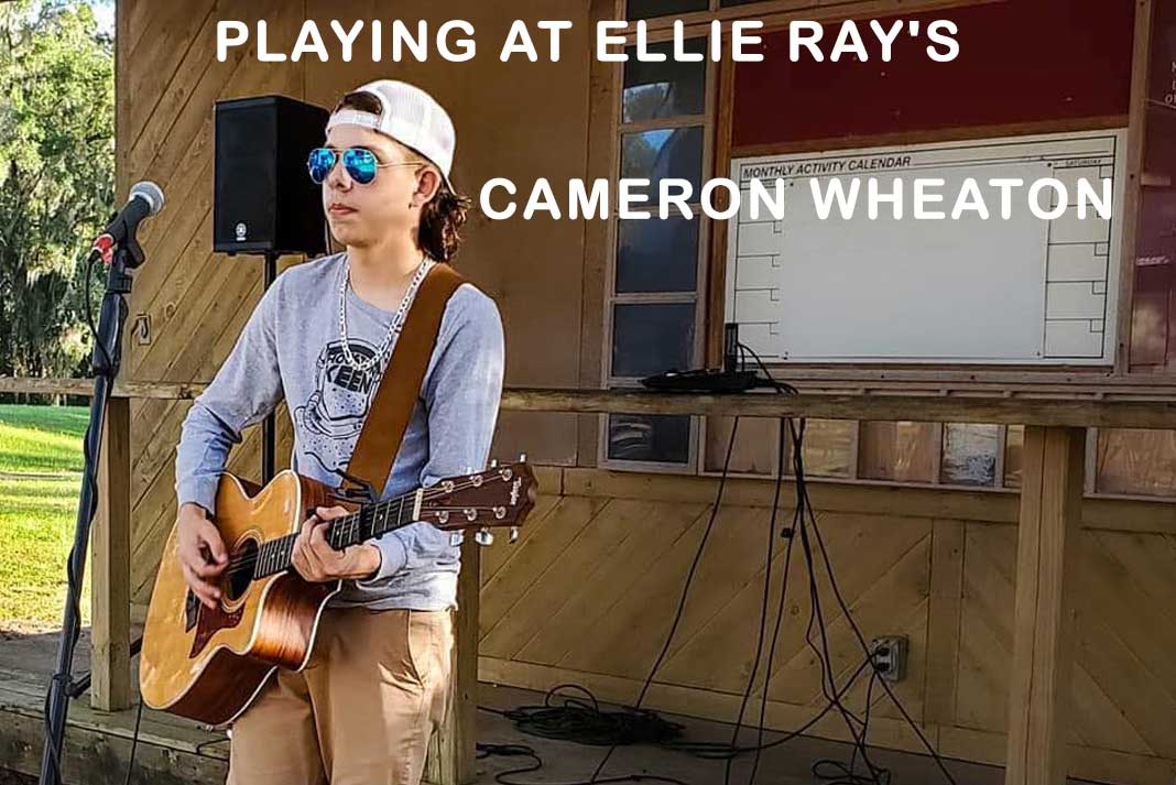 Playing at Ellie Ray's – Cameron Wheaton