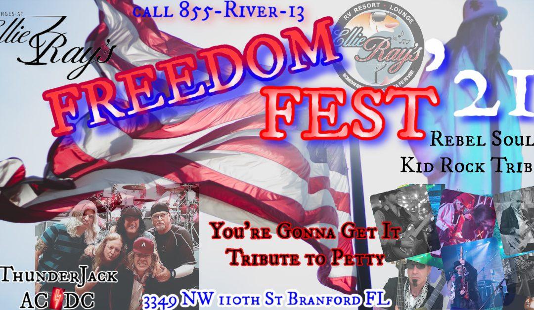 Freedom Fest '21 at Ellie Ray's RV Resort & Lounge