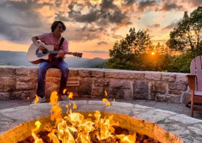 Playing at Ellie Ray's – Cameron Wheaton - By Fire Pit
