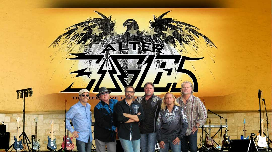 The Alter Eagles Band Playing at Ellie Rays RV Resort and Campground Florida