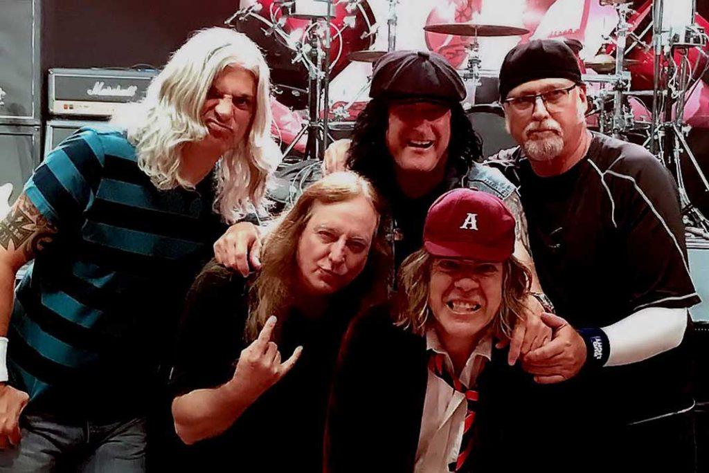 ThunderJack AC DC Tribute Band at Ellie Rays RV Resort
