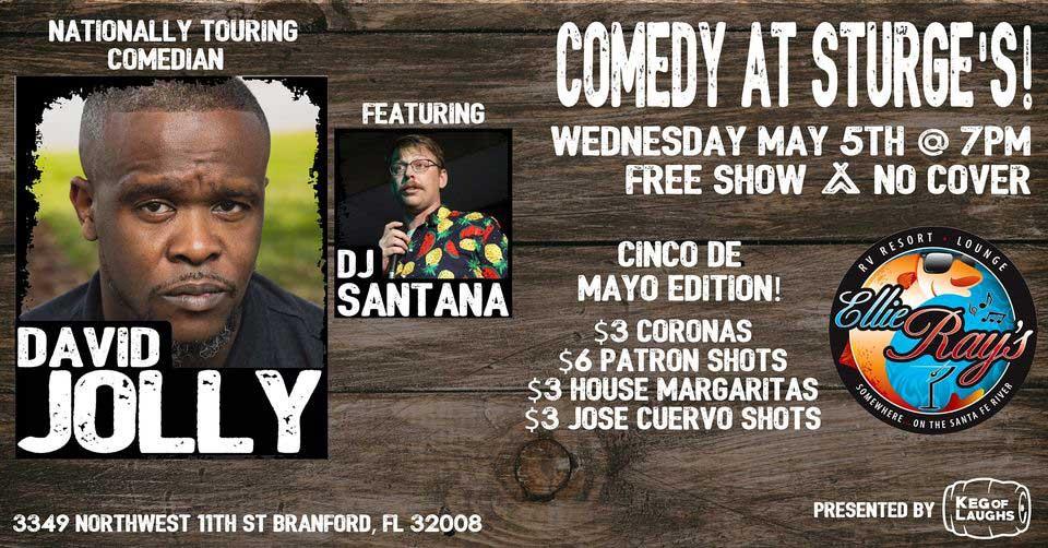 Cinco de Mayo Comedy Night at Sturge's!