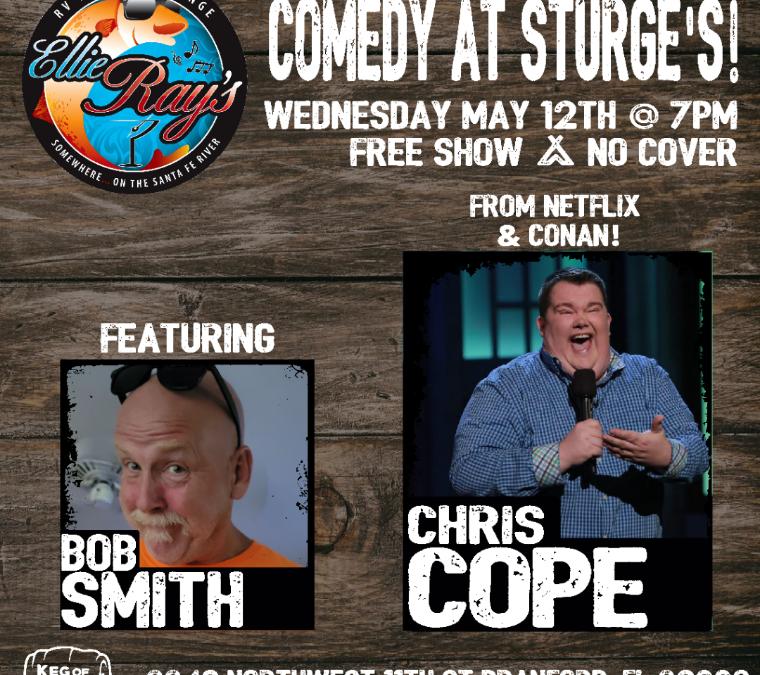 Wednesday Comedy Night at Sturge's!