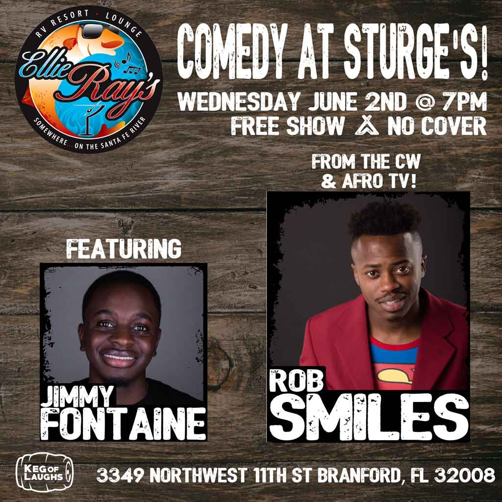 Weekly Comedy Night at Sturges at Ellie Rays RV Resort and Lounge